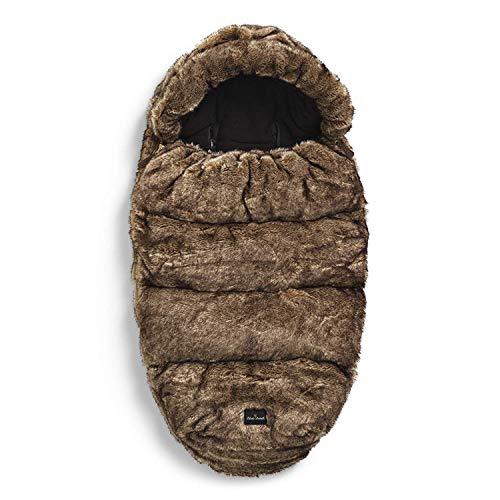 Elodie Details - Saco para cochecito de bebé con forro polar, saco y topos de pie, con capucha extraíble