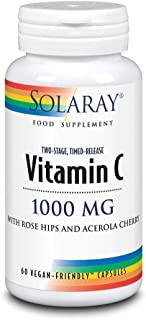 Solaray   Vitamin C 1000mg Two Stage Time Release 60 capsul   1 x 60 capsule (ES)