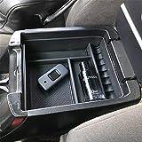 Bandeja de la caja de almacenamiento del reposabrazos del coche para Land Cruiser Prado FJ120 KDJ 120125 Consola central Guantera Estiba Ordenando Accesorios interiores 2004-2009