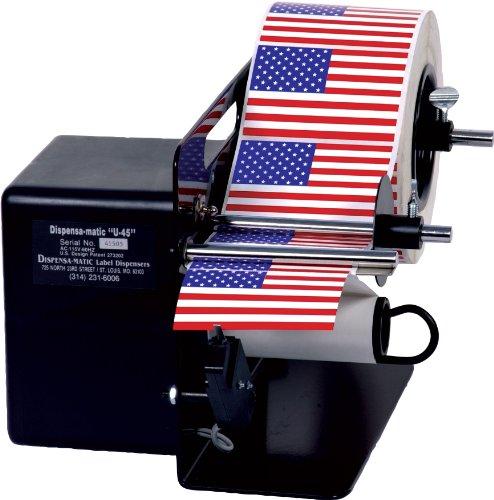 "Dispens-a-Matic U-45HS High Speed Label Dispenser for 4-1/2"" Width"