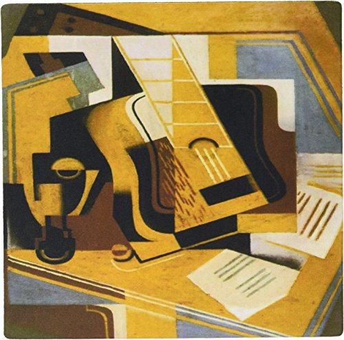 3drose LLC 20,3x 20,3x 0,6cm Maus Pad, Foto von Kubismus Gemälde von Juan Gris die Gitarre (MP 100895_ 1)