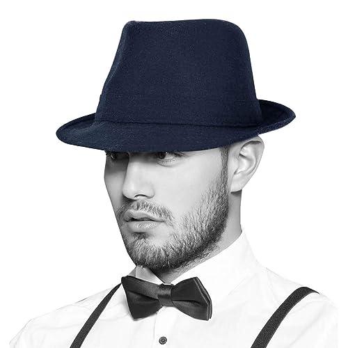 d01d24c3fdbe6 Simplicity Unisex Timelessly Classic Manhattan Fedora Hat