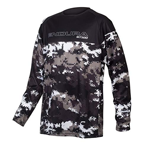 Endura MT500JR Boys MTB Jersey Medium Camouflage