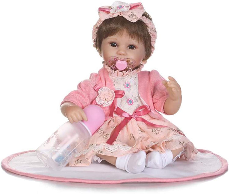 Cumaky Reborn Babypuppen,Die Echt Aussehen Silikontuch Körper Realistisch Neugeborenes Baby Mädchen Lebensecht 40cm B07MTDKGWR Schnelle Lieferung  | Hat einen langen Ruf