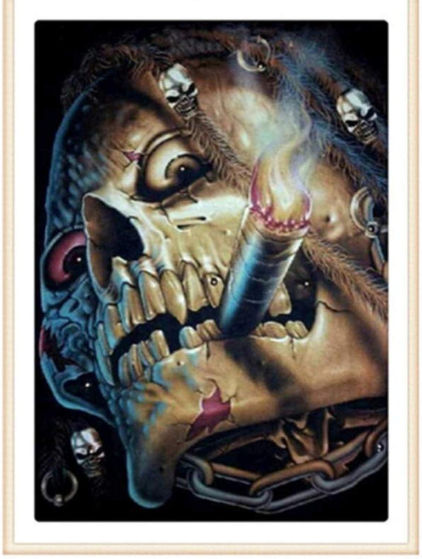 precio al por mayor XIGZI 5D DIY Figura Figura Figura Humana Bordado de Cráneo Completo Diamante rojoondo Punto de Cruz Mosaico Pintura Sin Marco  mejor calidad mejor precio