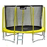 Angel Kinder Gartentrampolin Maxy Comfort Plus 374CM Spielzeug für draußen komplettes Trampolinset...