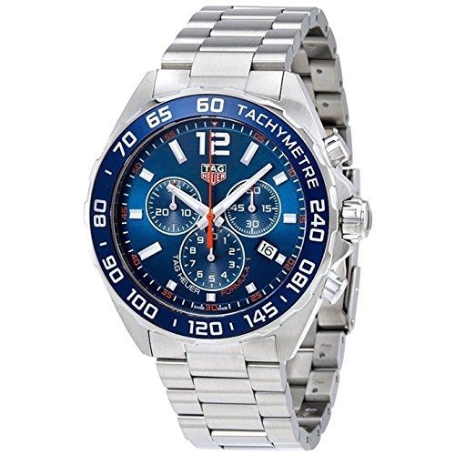 TAG HEUER MEN'S FORMULA 1 43MM STEEL BRACELET QUARTZ WATCH CAZ1014.BA0842