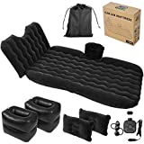 Rio Green Car Air Mattress - Back Seat Inflatable Portable Bed, Headrest, Blow Up...