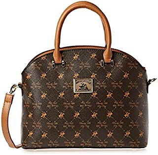 Beverly Hills Polo Club Bag For Women,Brown - Satchels Bags,Bhva2475Bn