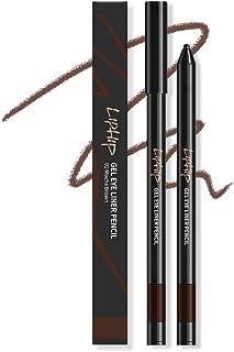 LIPHIP Gel Eyeliner Pencil, Smudge & Water-Resistant, Longwear Gel Eyeliner, 02.Mocha Brown