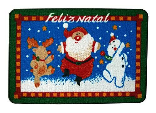 Tapete de Natal Feliz Natal 0.65x0.45