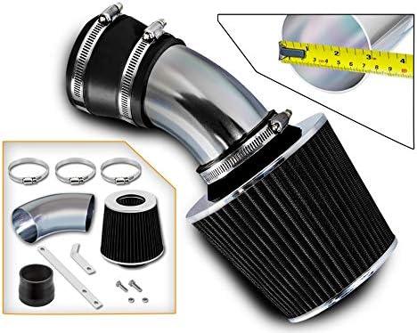 Rtunes Ranking TOP6 Racing Short Ram Air Intake BLACK Kit Comp + Filter Over item handling ☆ Combo