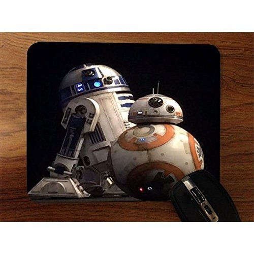 Popular Droid Robots Desktop Office Silicone Mouse Pad by Demon Decal