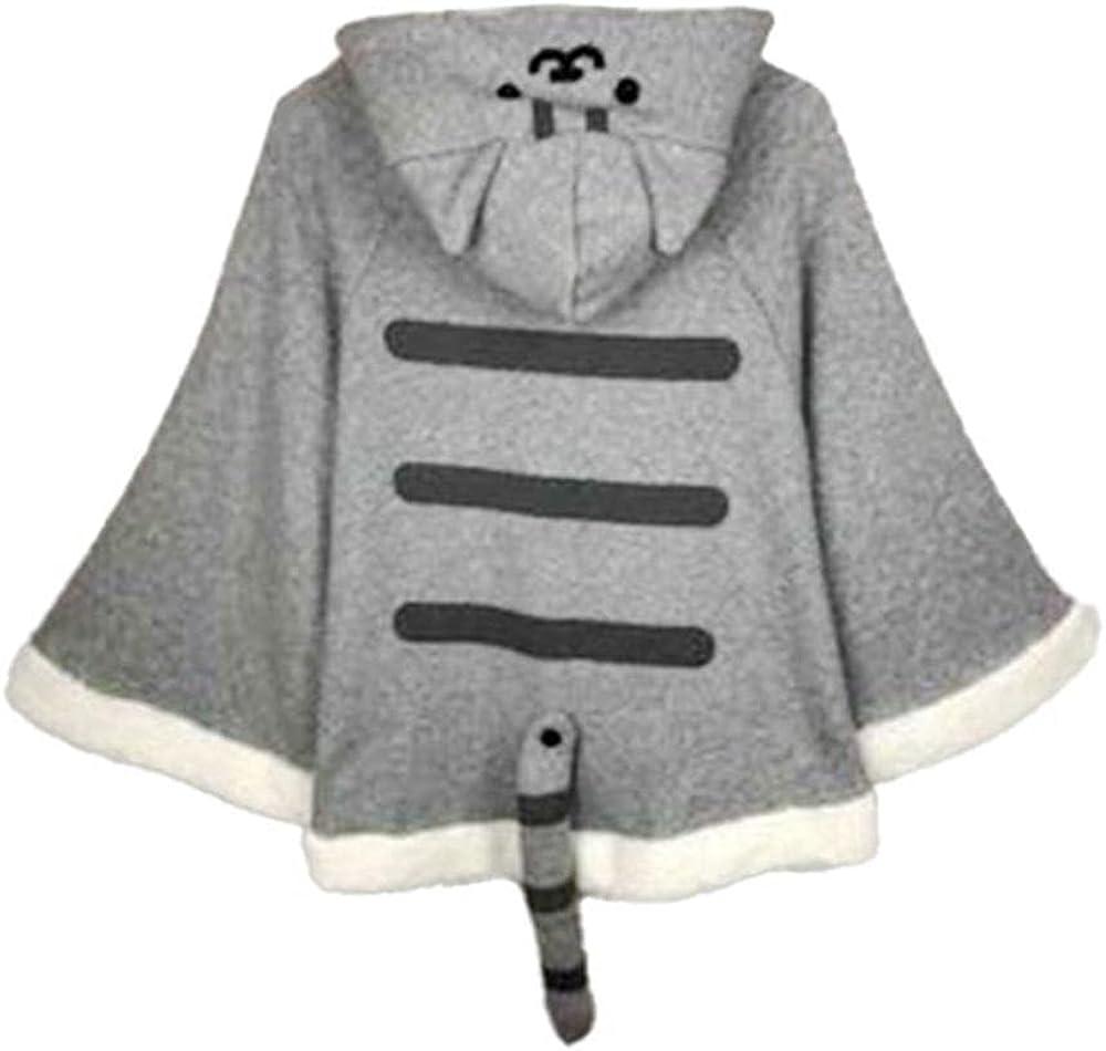 HNJing Winter Plush Lovely Anime Hooded Fleece Sweater Game Jacket Casual Coats Streetwear Sweatshirts Undertale S-4Xl
