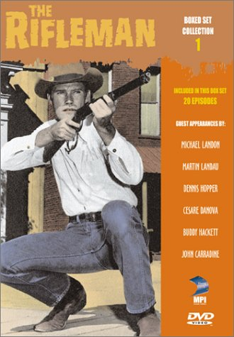 The Rifleman Box Set Collection 1 - 20 Episodes