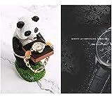 MISS KANG Sculptures Panda Watch Afficher Le Support d affichage, Ornements de Plateau d animaux, Montre Bague Drag Bijoux Support de Rangement (Couleur: A) Qingchunw (Color : B)