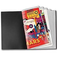 ROZZERMAN B2 ポスター ファイル 40枚 20P 収納 B2ポスターフレーム B2ポスターファイル ポスターファイル ポスターフレームB2 (B2)