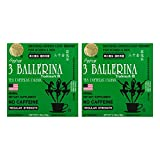 Three Ballerina Diet Tea for Men and Women 30 Tea Bags Ballerina, 60 Count, (Pack of 2)