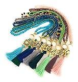 BION Tasbih, Prayer Beads, 99 Beads, Crystal Handmade, Necklace Tasbeeh, Komboloi, Rosary (Aquamarine (Blue))