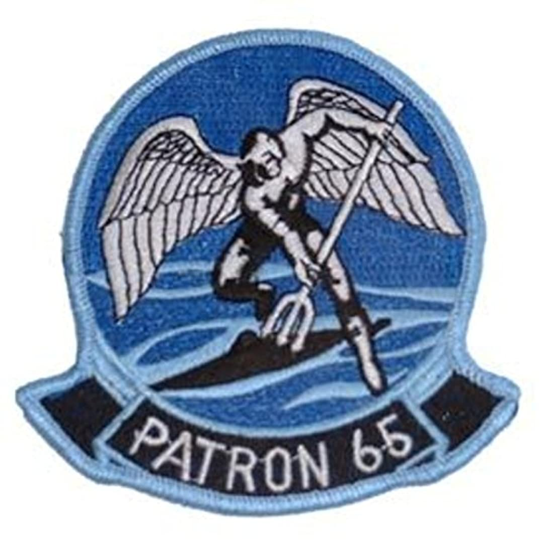 EagleEmblems PM5313 Patch-USN,Patron 65 (3-3/8'')