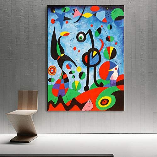 JEfunv Pinturas en Lienzo Arte de la Pared Carteles e