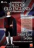 Smiffys Costume Deluxe Lord Tudor, Top, Pantaloni, Mantello e Gorgiera
