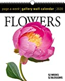 Flowers Page-A-Week Gallery Wall Calendar 2020
