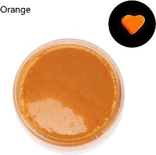 XISAOK Resin Jewelry Colorant Dye Mica Pearl Pigment Superfine Powder Resin Dye Craft Pearl Pigment Orange