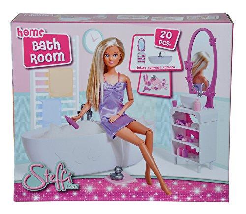 Simba- Steffi Love Home Bathroom Accessoire pour poupée, 104663234