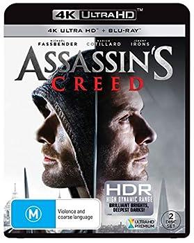Assassins Creed 4K UHD / Blu-ray   NON-USA Format   Region B Import - Australia