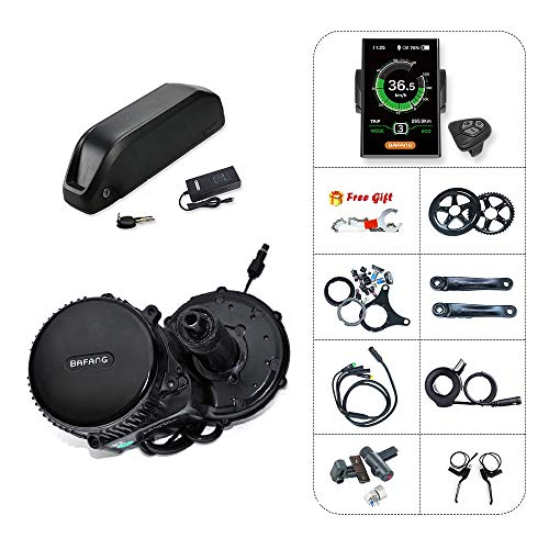 Bafang BBS02B 750W 48V Moteur Mid Drive Kit électrique Kit de Conversion de vélo/vélo électrique Moteur électrique avec Batterie