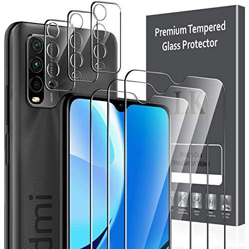 LK Compatible con Xiaomi Redmi 9T/Redmi Note 9 4G Protector de Pantalla,3...