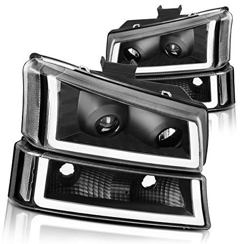 06 silverado black headlights - 2