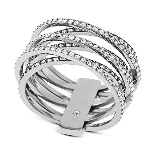 Michael Kors anillo de mujer Brilliance en acero MKJ4423040