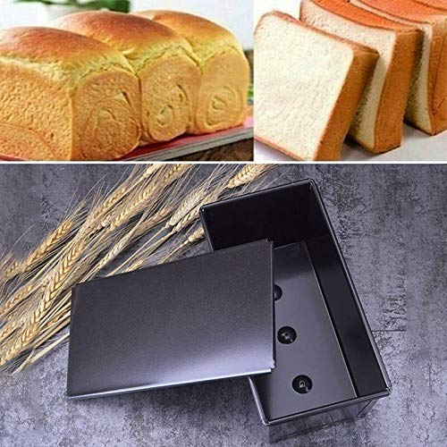 HNIWDJ Dishes Loaf Pan Lid Cover Preventing Warping Kitchen Storing Fruit Cake Breads Tin Oven Tray Baking Dish Tray