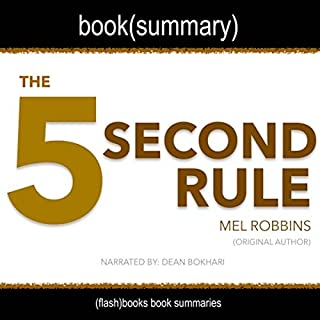 Summary: The 5 Second Rule by Mel Robbins cover art