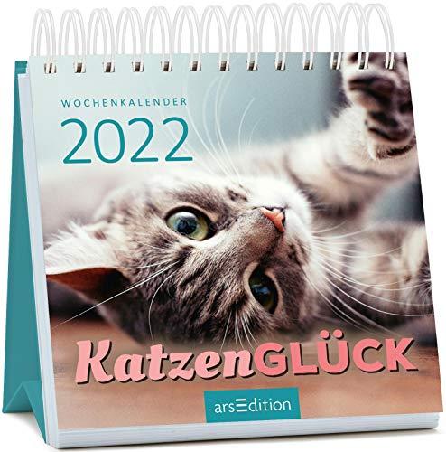 Miniwochenkalender Katzenglück 2022