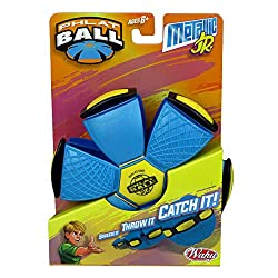 Throw a disc Catch a ball 3 neon colours to collect and is made of soft flexible plastic Ages 5 and over Colour may vary