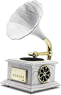 Record Player Vintage Gramophone With Brass Horn Reproduction Rca Victor Record Player Loudspeaker, Turntable Phonograph (...