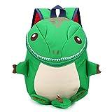 DafenQ Sacs à Dos Enfant Primaire Maternelle Sacs d'école 3D Dinosaure Bébé Sac Scolaire pour Garderie PréScolaire Primaire Fille Garçon (Vert)
