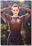 ZRRTTG Leinwand Druck Poster 60x90cm Sexy Emma Watson