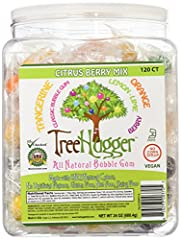 Citrus Berry Mix - Made with only natural colors, not artificial flavors, gluten free, nut free, dairy free and no corn syrup. Citrus Berry Mix includes; Tangerine, Classic Bubble Gum Lemon-Lime, Berry and Orange Delicious, small gumballs perfect for...