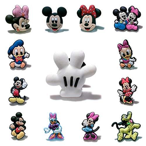 yqs imanes de Nevera 1 unids Mickey Minnie Hot Cartoon Nevera Imanes Souvenir Pegatina Magnética Casa Decoración Nevera Imanes Niños