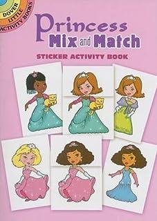 Princess Mix and Match: Sticker Activity Book