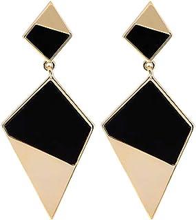 DIDA Geometric Earrings Designed for Women with Spliced Triangular Earrings