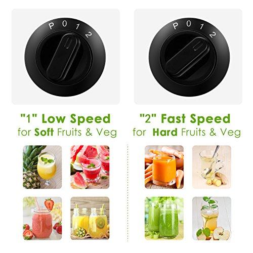 Aicook Licuadoras para Verduras y Frutas, 3