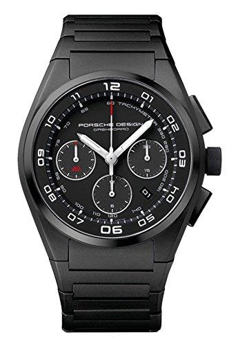Porsche Design Dashboard Chronograph Automatic Black PVD Titanium Mens...