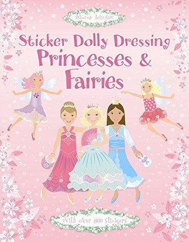 Princesses & Fairies (Usborne Sticker Dolly Dressing)