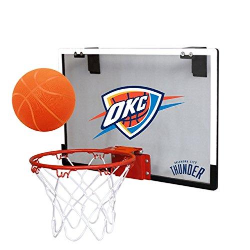 NBA Oklahoma City Thunder Game On Indoor Basketball Hoop & Ball Set