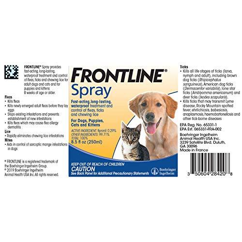 Frontline Dog Spray 250mL